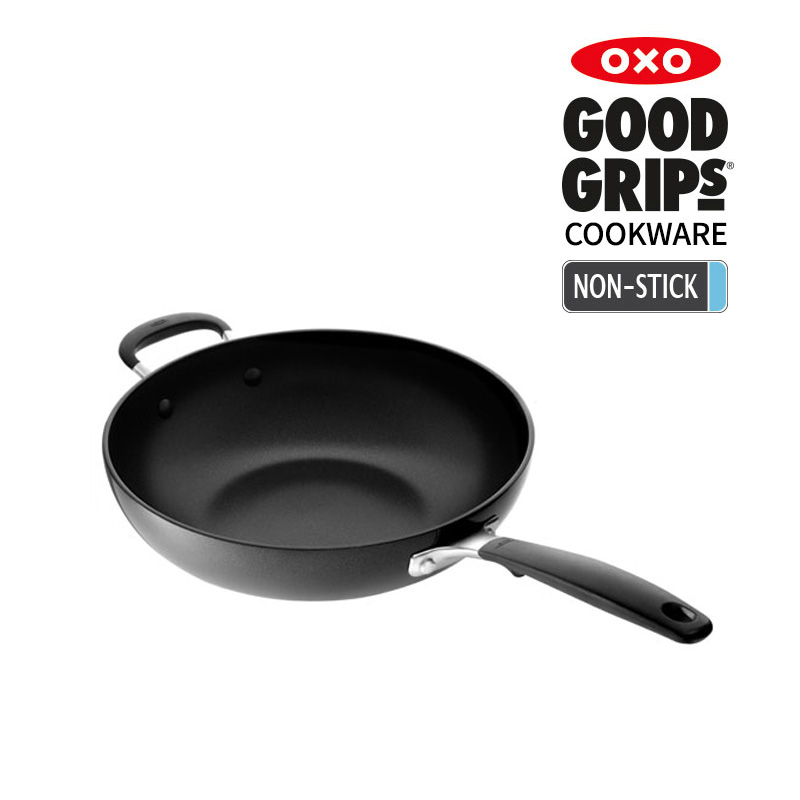 [OXO] 논스틱 손잡이 오픈 웍 28cm