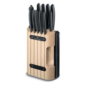 [빅토리녹스] 스위스클래식 칼블록 11 피스 (Cutlery Block, 11 piece) - 6.7153.11