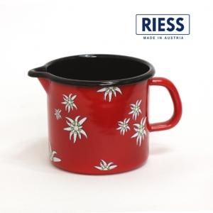 [RIESS]에델바이스 저그 12cm(레드)