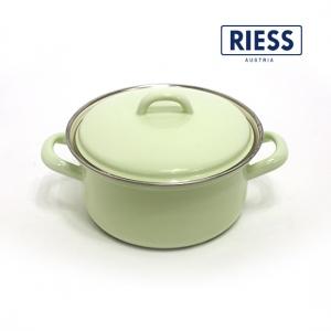 [RIESS]번트 양수냄비 16cm
